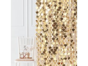go 152 gold backdrop curtain
