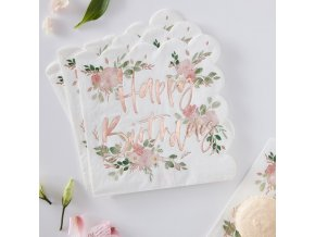 df 814 happy birthday floral napkin min