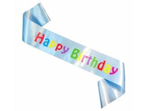 Šerpa happy Birthday modrá