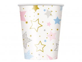 eng pl Twinkle Twinkle Little Star Baby Shower Cups 266 ml 8 pcs 31556 2