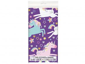 eng pl Tablecover Unicorn 137 x 213 cm 1 pc 31535 2