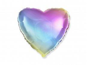 eng pl Pastel Heart Foil Balloon 46 cm 1 pcs 45268 1
