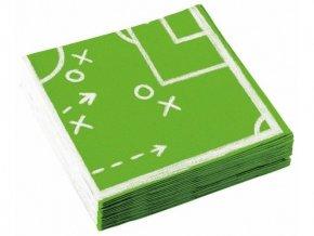 eng pl Lunch napkins Football 33 cm 20 pcs 31159 1