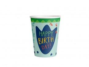 eng pl Cups Happy Dinosaur 250 ml 8 pcs 45111 2