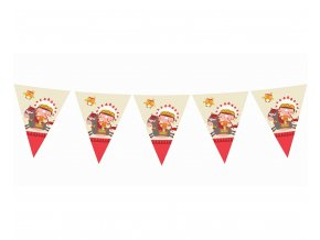 banner flagi indianskie party dl 360 cm 11 fl