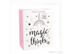 unicorn colorful small kraft paper gift bag with handle festival jewelry bags wedding birthday party gift package wrapping supplies 0302 (3)