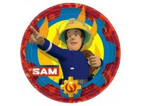 eng pl Fireman Sam Plates 23cm 8 pcs 25532 1