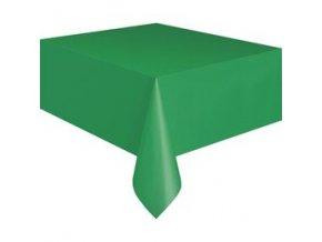 Obrus zelený 1,37x2,74m 1ks v balení