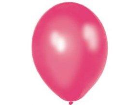 """Metalický balón 12"""" fuksia 6ks v balení"""