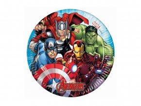 eng pl Paper plates Mighty Avengers 20 cm 8 pcs 29358 1