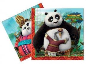 eng pl Napkins Kung Fu Panda 33 cm 20 pcs 20356 1
