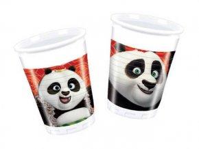 eng pl Plastic Cups Kung Fu Panda 200 ml 8 pcs 20355 2
