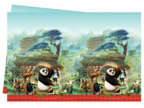 eng pl Plastic Tablecover Kung Fu Panda 120x180 cm 1 pc 20358 2
