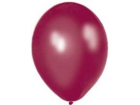 "Metalický balón 12"" plum 6ks v balení"