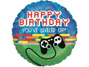 Fóliový balón Craft Happy birthday 46cm