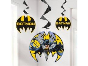 Špirálky Batman party 3ks