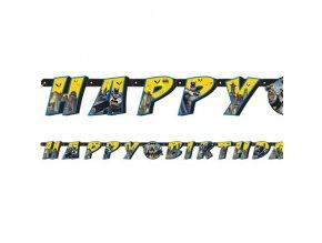 Banner Batman Happy Birthday 1,82m