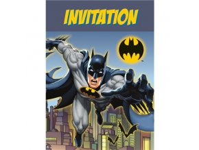 Pozvánky Batman party 8ks