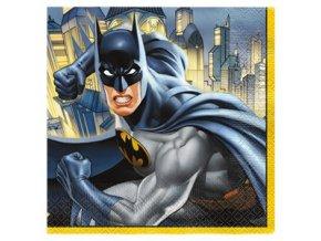 servítky Batman oslava 16ks 33cm