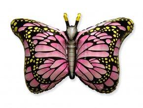 eng pl Foil Ballon Butterfly 60 cm 38273 2