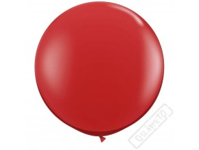 nafukovaci jumbo balon cerveny 85cm