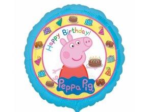 Fóliový balón Prasiatko Peppa Pig 43cm