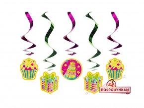 10914 spiralova dekorace muffiny