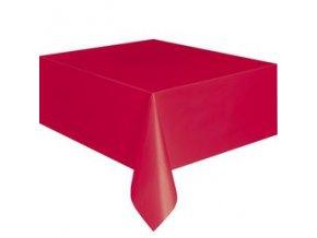 Obrus červený 137x274cm