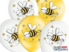 Balóny Včielka 6ks v balení