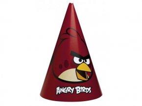 Klobúčiky Angry Birds 6ks v balení