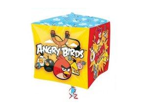 Fóliový balón kocka Angry Birds 38cm