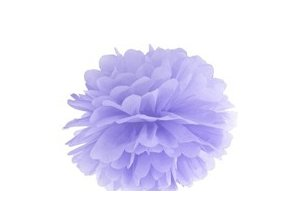 Pompon lila 35cm