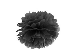 Pompon čierny 35cm