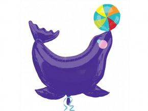 Fóliový balón Delfín