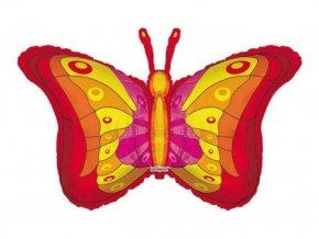 Fóliový balón motýľ 94cm