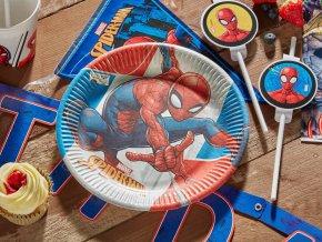 eng pl Paper plates Spiderman 20 cm 8 pcs 45064 3