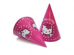 Klobúčiky Hello Kitty 6ks v balení