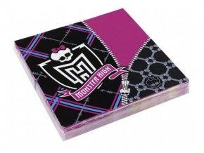 Servítky Monster High 20ks v balení
