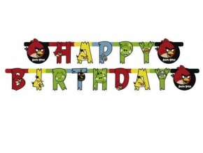Banner Angry Birds 180x15cm