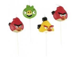Sviečky Angry Birds 4ks