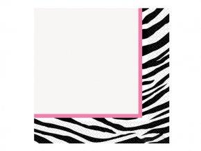 Servitky Zebra 16ks v balení