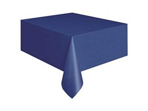 Obrus modrý plastový 120x140cm
