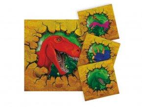 eng pl Napkins Dinosaur 25 cm 16 pcs 38478 1