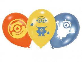 Latexové balóny Mimoni 6ks v balení