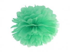 Pompon zelený 35cm