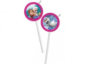 Slamky Frozen 6ks v balení