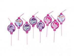 eng pl My Little Pony Drinking Straws 8 pcs 30615 2