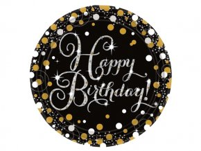 Tanier Happy Birthday Gold 8ks v balení