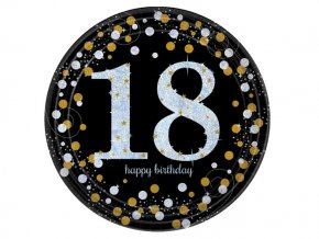 "Tanier Happy Birtdhay Gold ""18"""