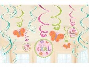 Špirály Baby Girl 12ks v balení